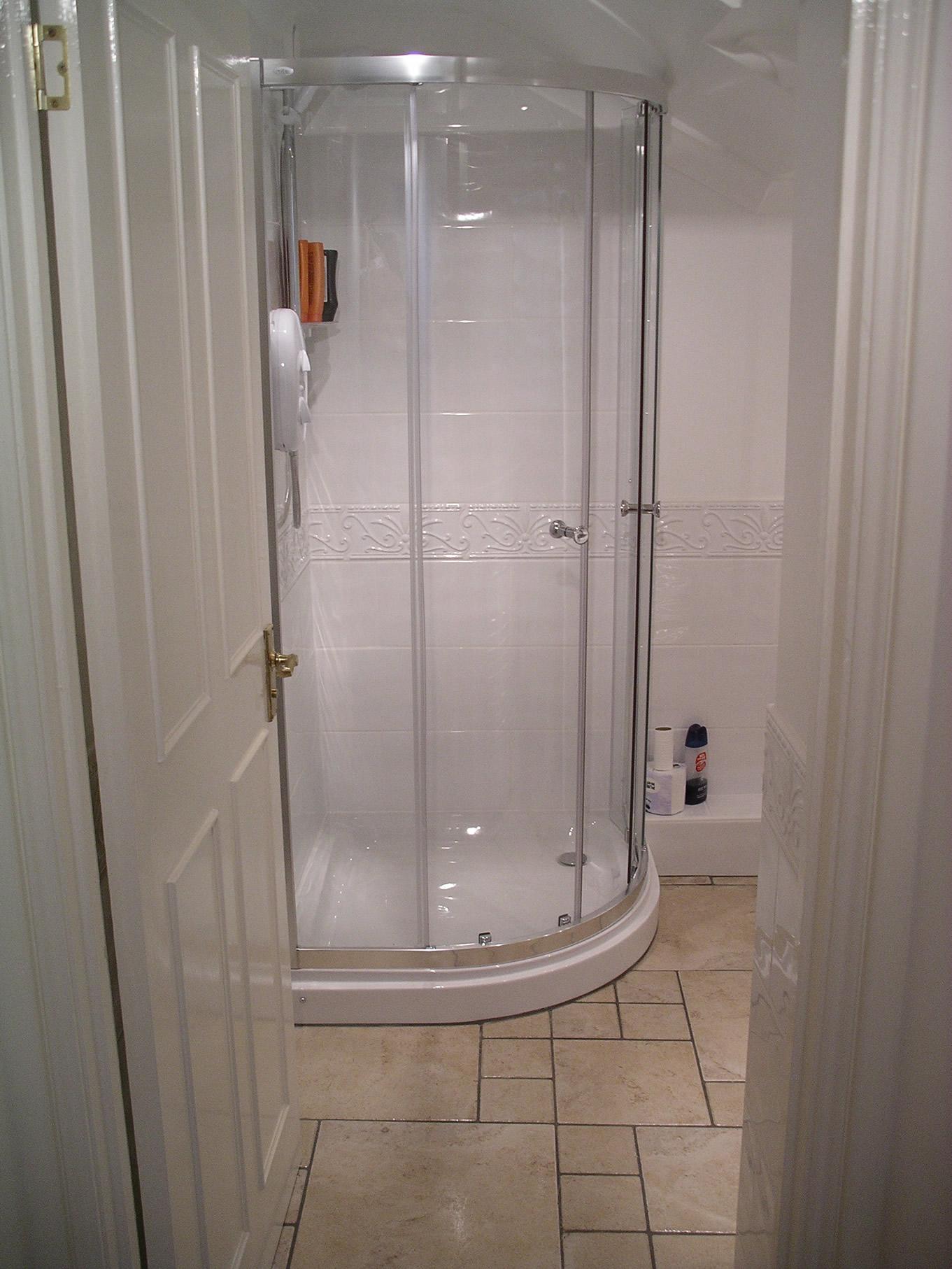 Tile Shower Room